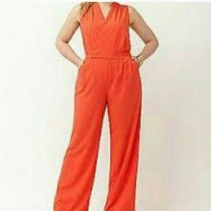 Orange Lane Bryant Jumpsuit